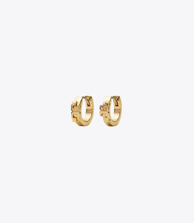 Serif-T Huggie Earring