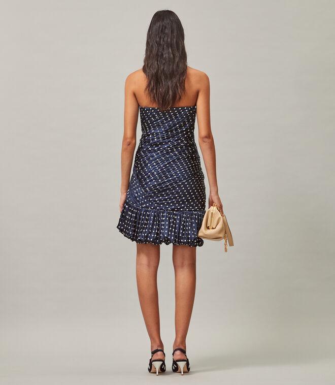 Silk Mini Party Dress | 443 | Sheath Dresses