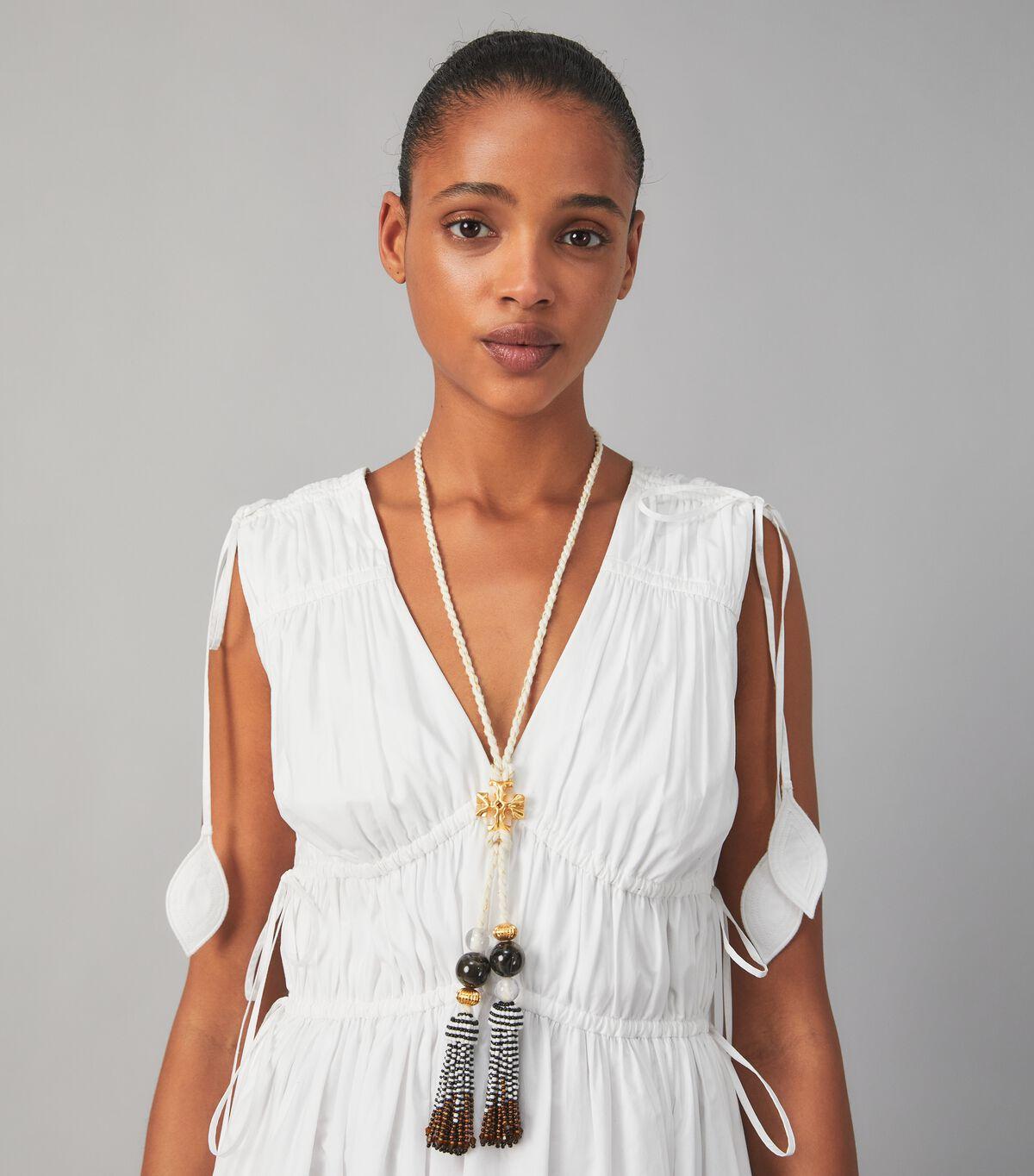 Roxanne Long Tassel Necklace
