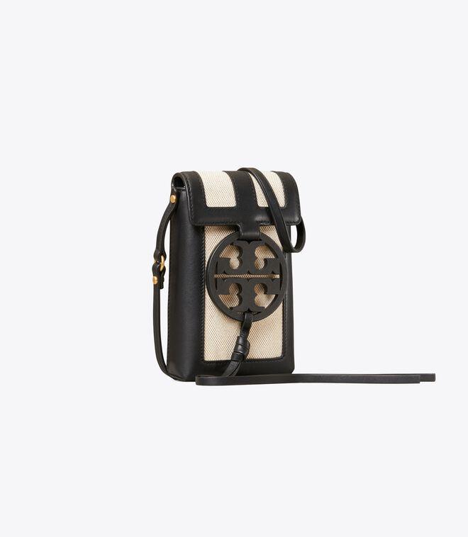 Miller Canvas Quadrant Phone Crossbody