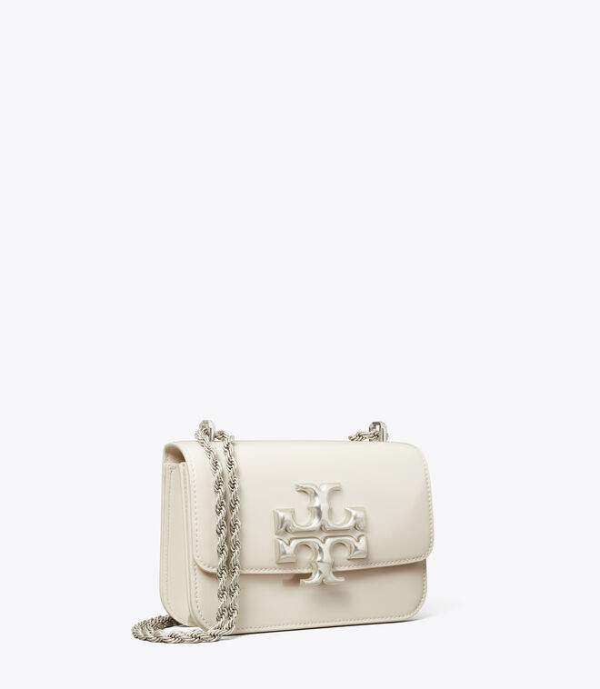 ELEANOR PATENT SMALL CONVERTIBLE SHOULDER BAG