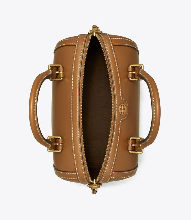 T Monogram Leather Barrel