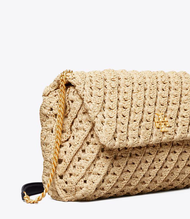 KIRA CROCHET CONVERTIBLE SHOULDER BAG