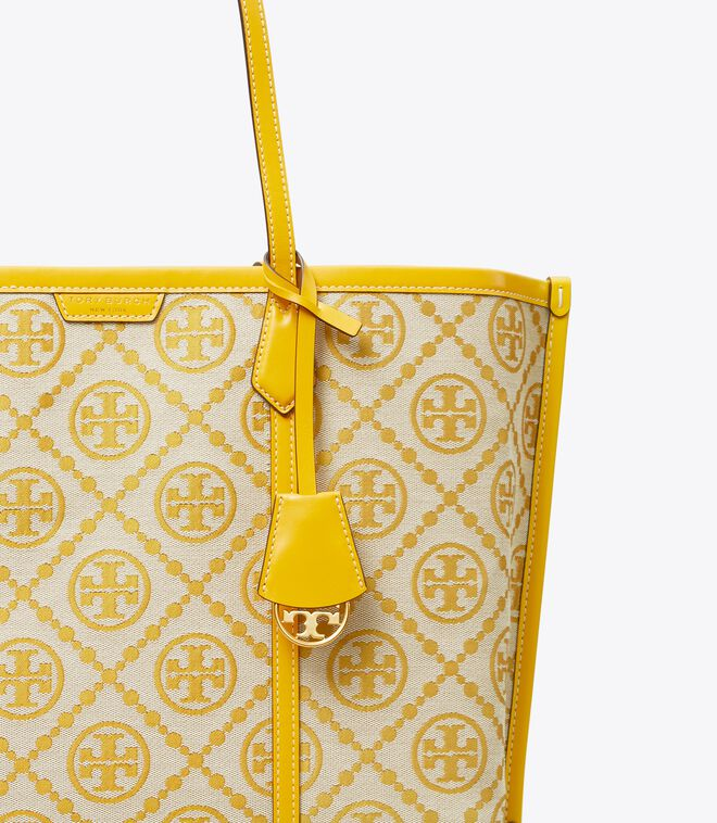 Perry T Monogram Triple-Compartment Tote