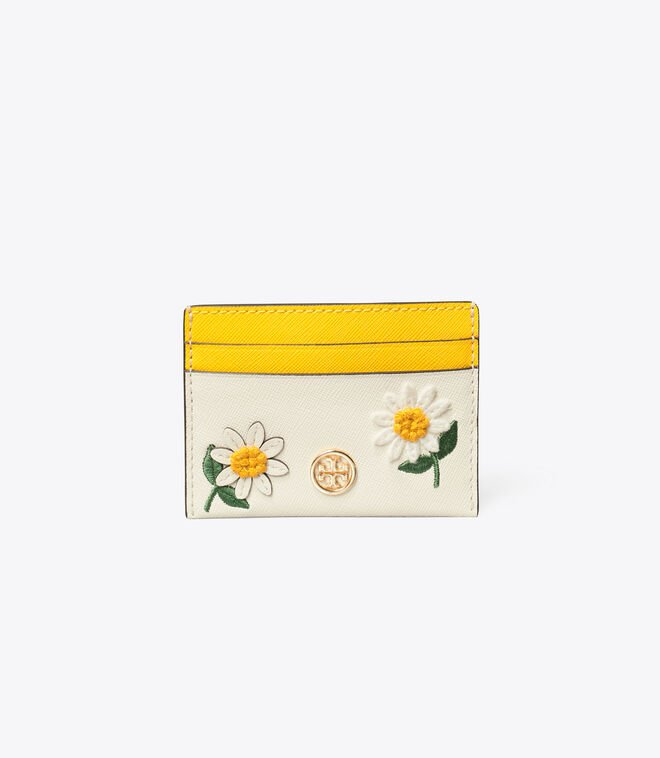 ROBINSON EMBROIDERED CARD CASE | 104 | Card/Coin Cases