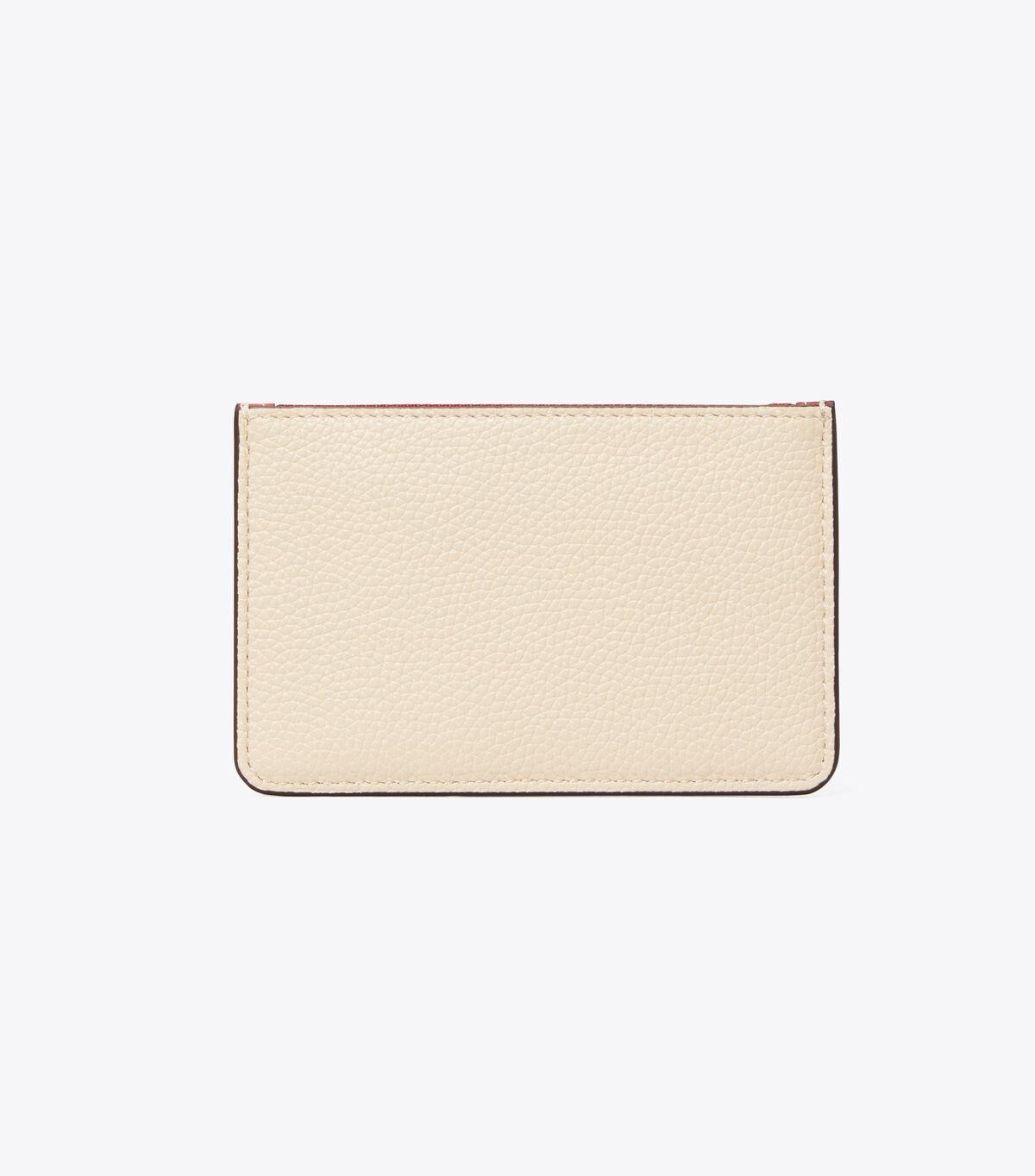 Perry Color-Block Top-Zip Card Case