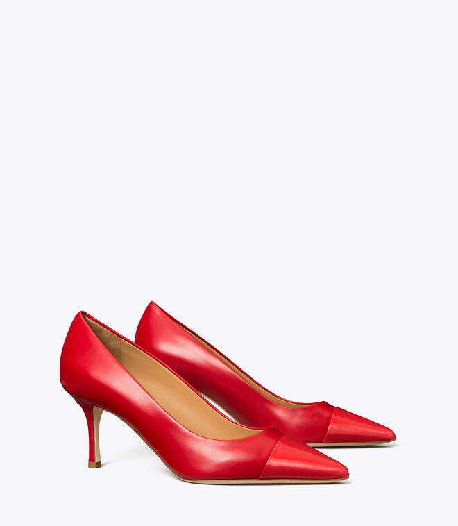 PENELOPE 65MM CAP-TOE PUMP | 604 | Pumps