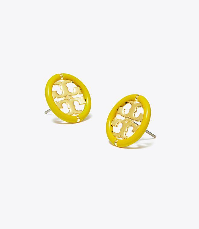 Miller Enamel Stud Earring