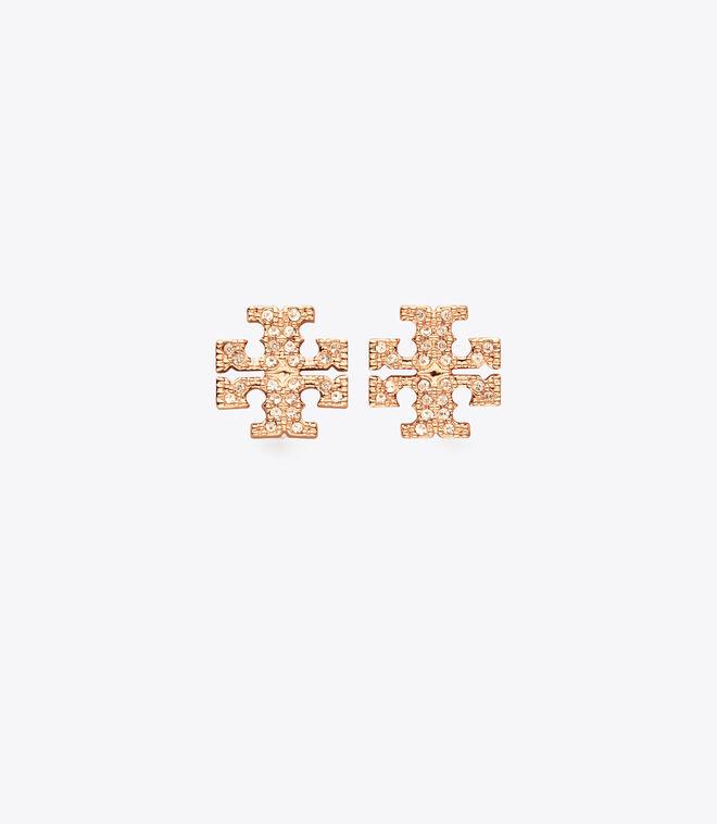حلق دبوس كريتسال بشعار توري بيرش   696   حلق