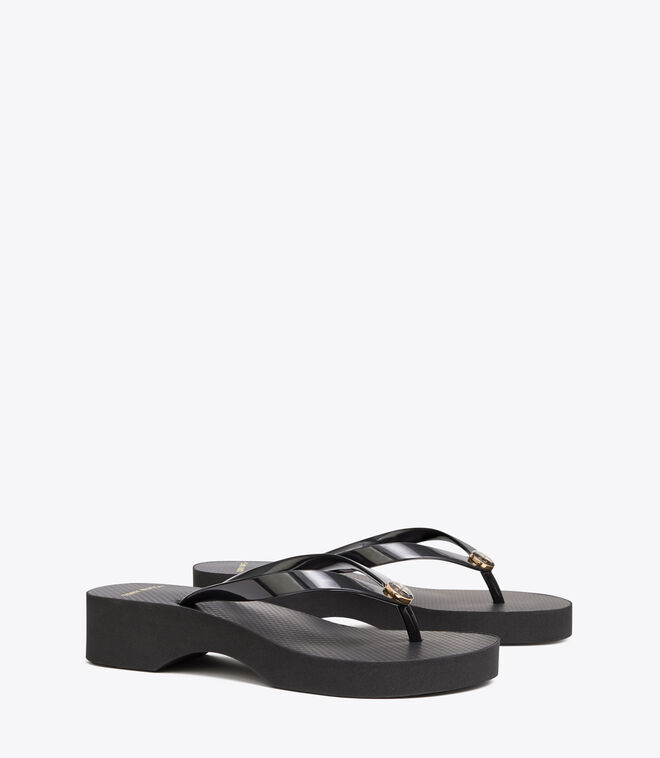 CUT-OUT WEDGE FLIP FLOP | 009 | Wedge Flip Flops
