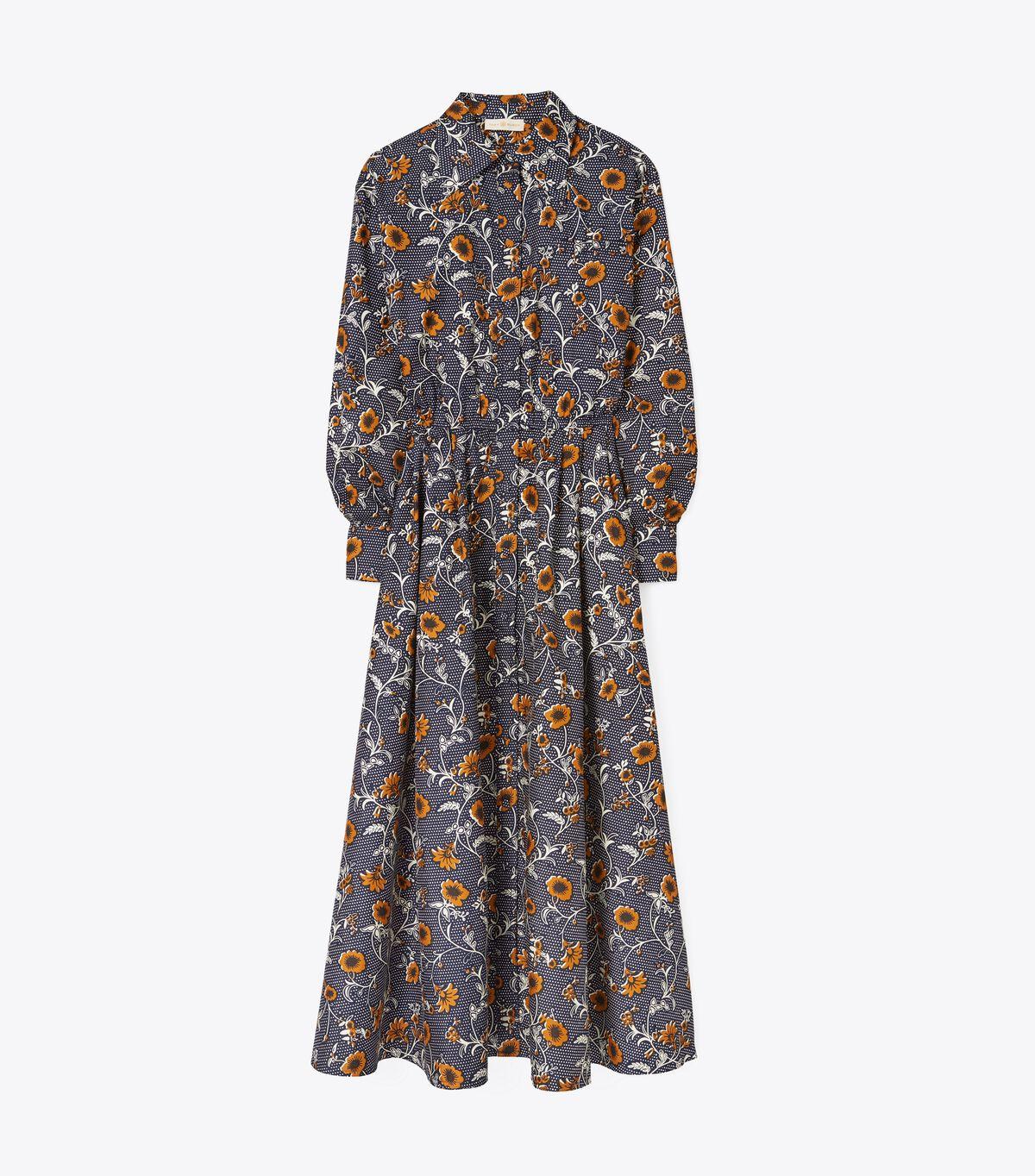 Eleanor Silk Twill Dress