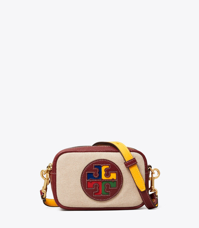 Perry Color-Block Canvas Mini Bag