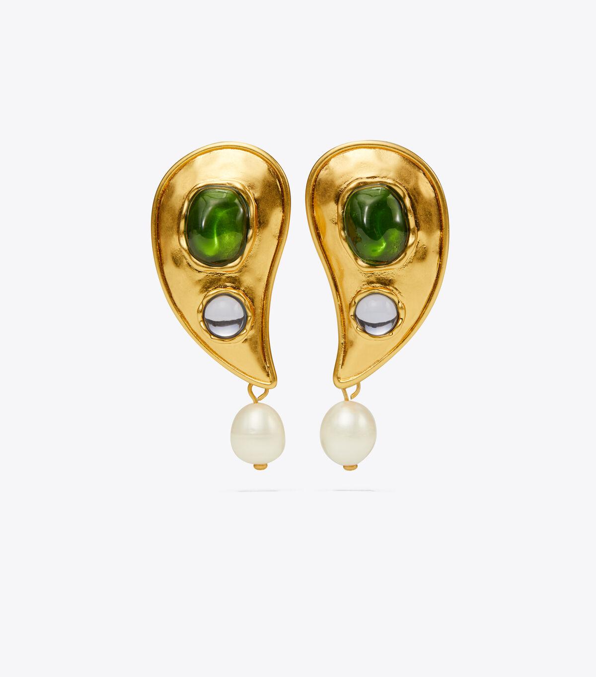 Bandana Paisley Earring
