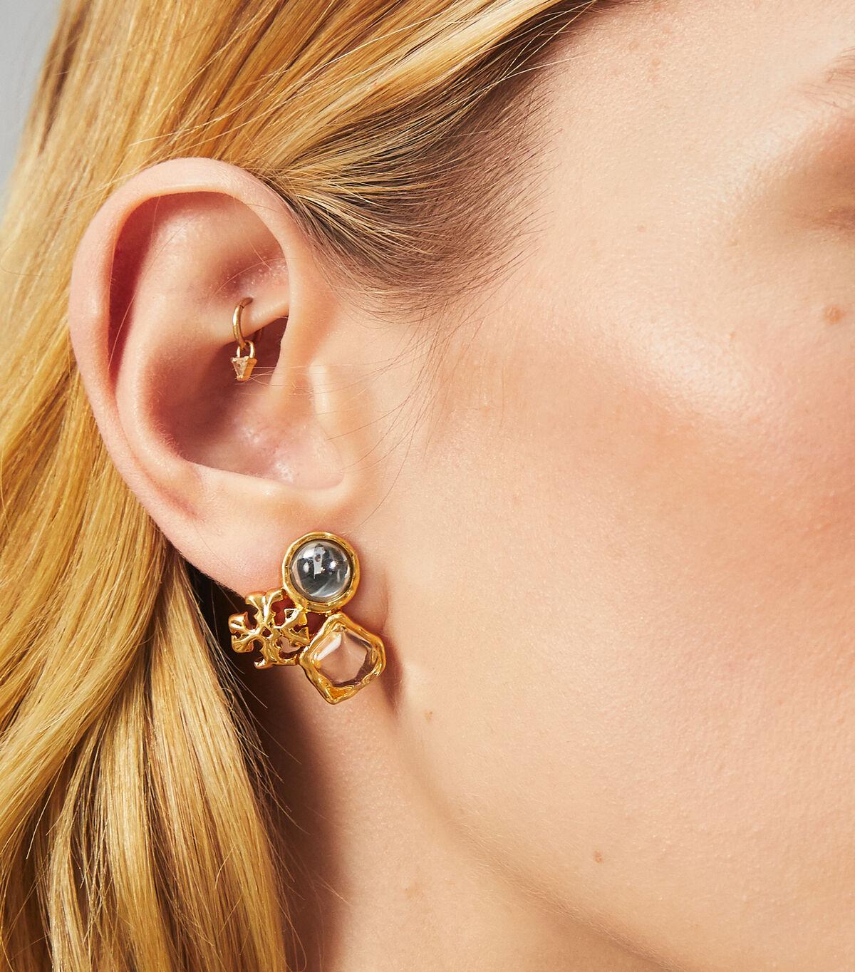 ROXANNE CLUSTER STUD EARRING