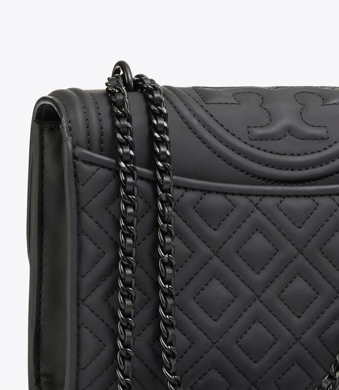 FLEMING MATTE SMALL CONVERTIBLE SHOULDER BAG | 001 | Shoulder Bags