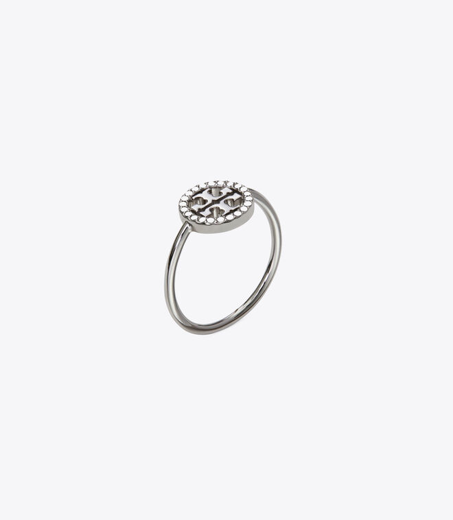 MILLER PAVE DELICATE RING
