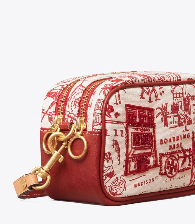 PERRY PRINTED CANVAS MINI BAG   987   Mini Bags