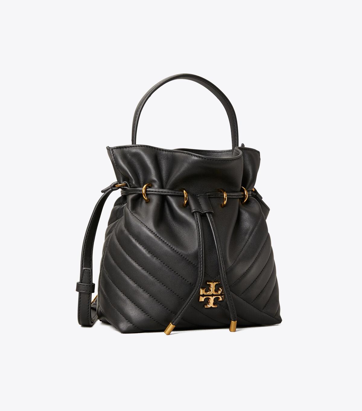 Kira Chevron Mini Bucket Bag