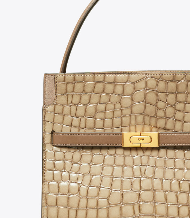 LEE RADZIWILL EMBOSSED SMALL DOUBLE BAG | 296 | Satchels