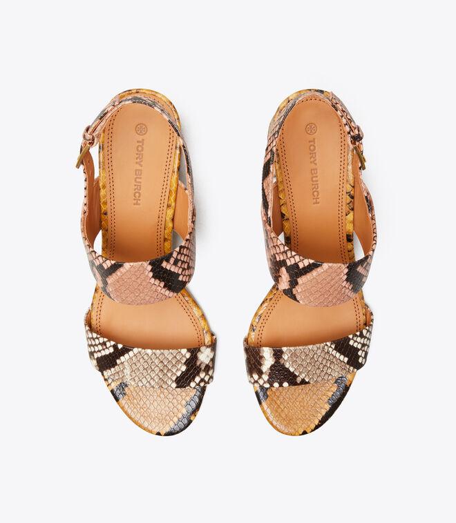 Gigi Embossed Sandal