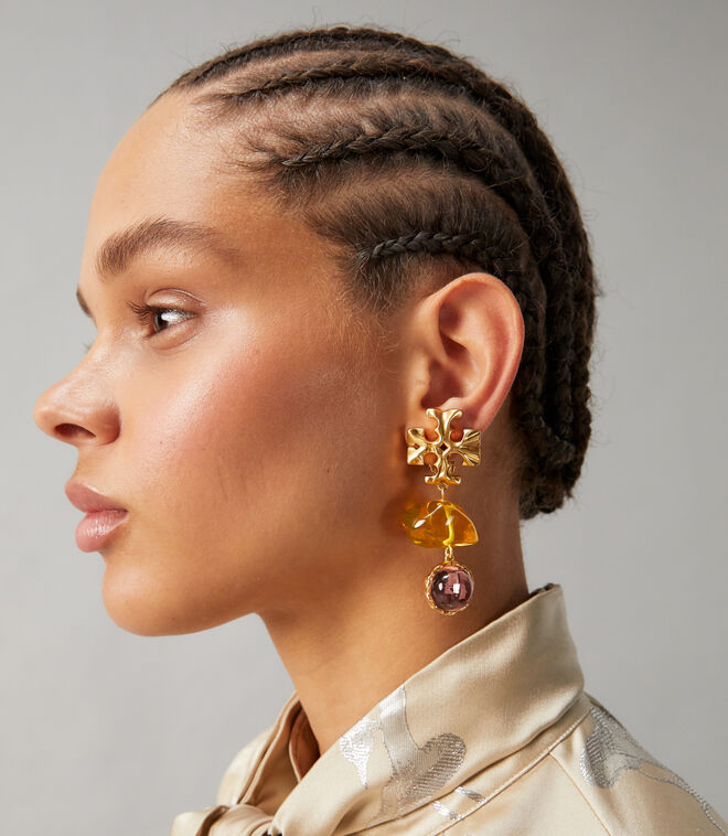 ROXANNE DOUBLE-DROP EARRING