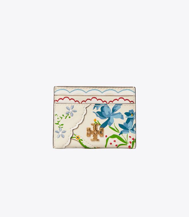 Kira Mixed-Floral Card Case