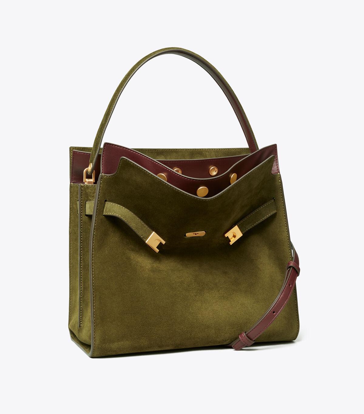 حقيبة مزدوجة لي رادزيويل جلد الغزال | 325 | حقائب ساتشيل