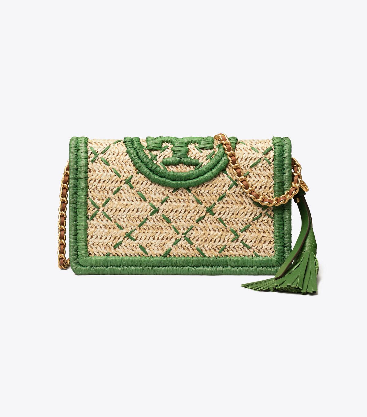 Fleming Soft Straw Wallet Crossbody