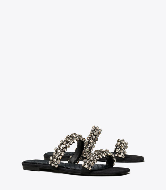 CRYSTAL SLIDE 5MM SANDAL
