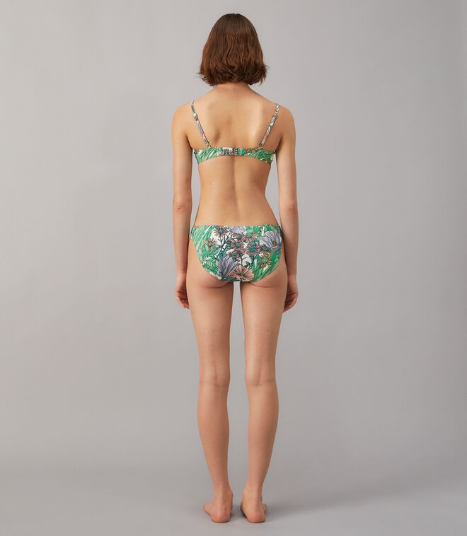 Printed Underwire Bikini Top