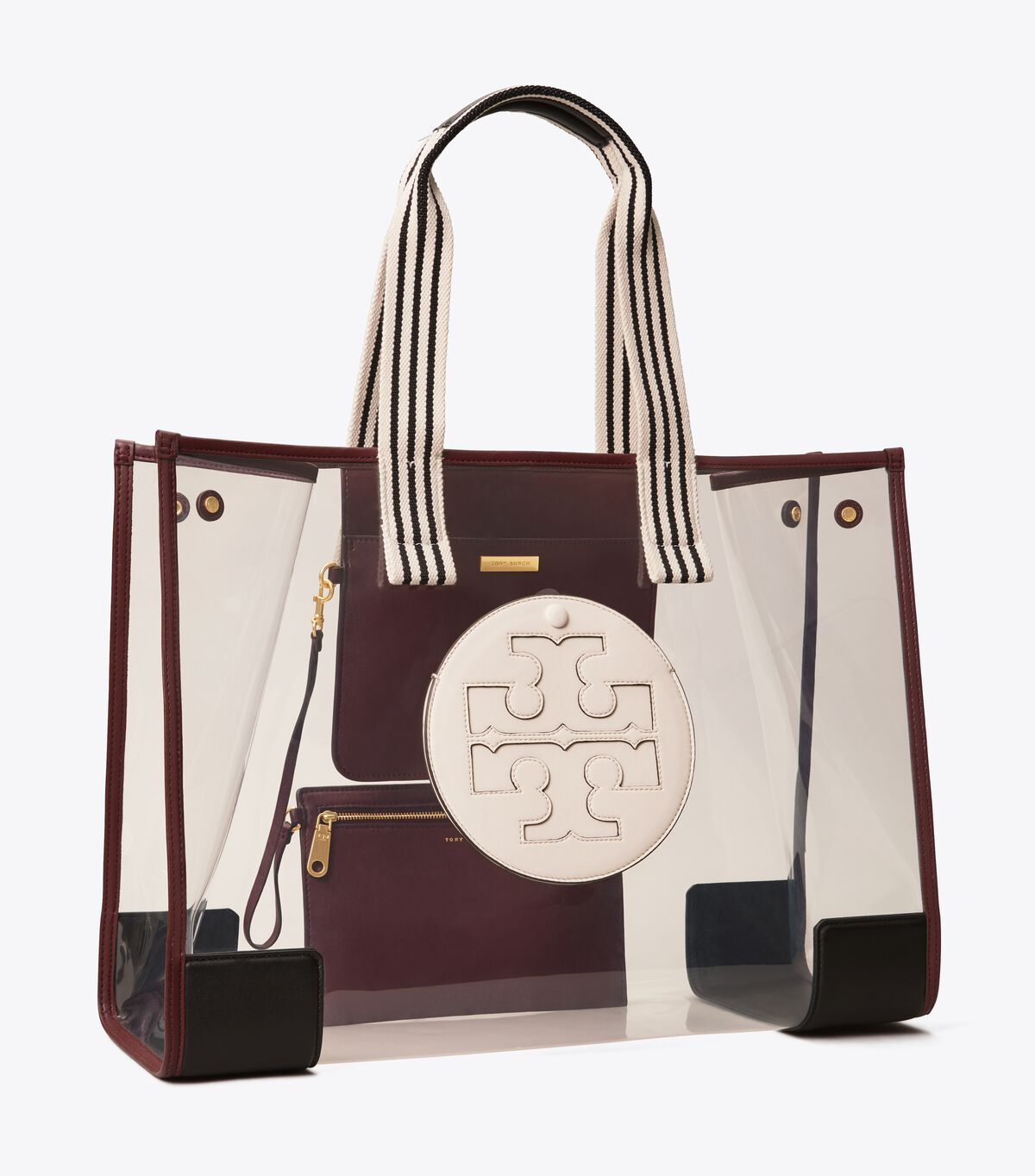 Ella Clear Oversized Tote Bag