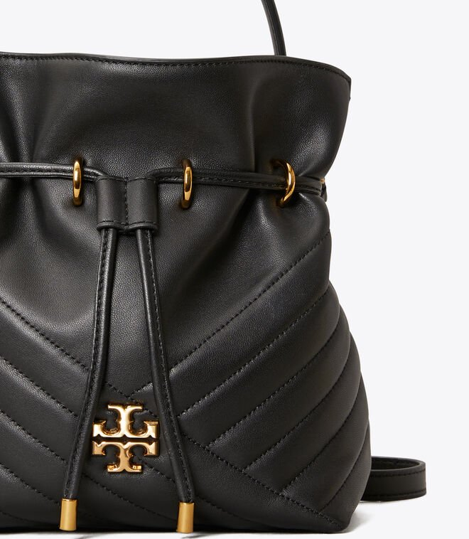 Kira Chevron Mini Bucket Bag