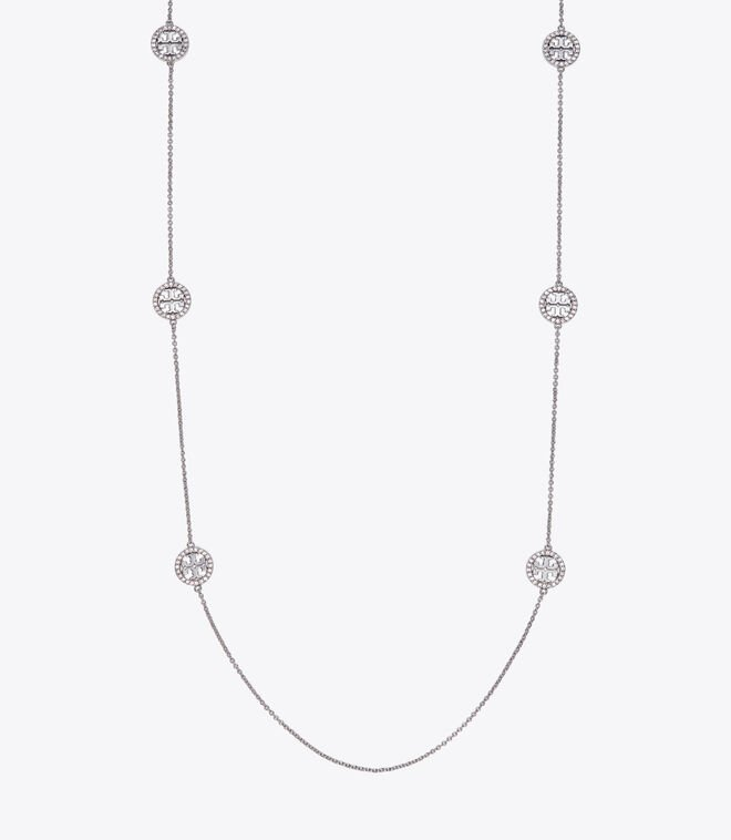 MILLER PAVE LONG NECKLACE