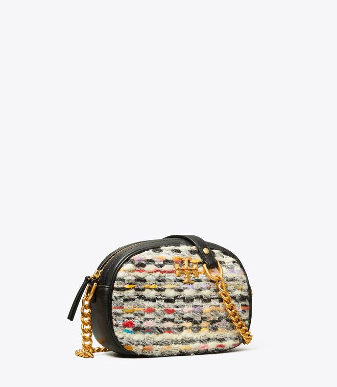 KIRA TWEED SMALL CAMERA BAG
