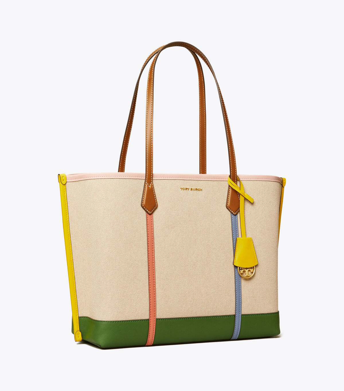 PERRY CANVAS TRIPLE-COMPARTMENT TOTE | 254 | Totes