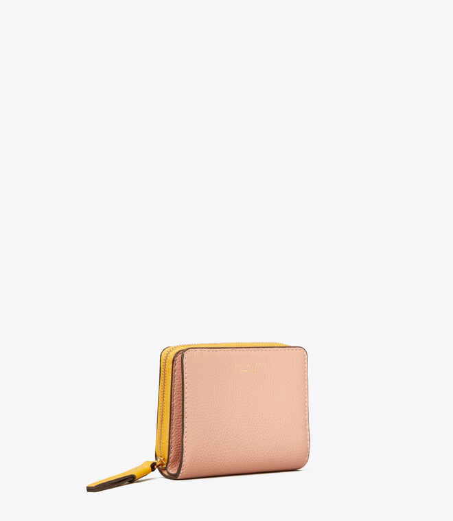 Perry Color-Block Bi-Fold Wallet