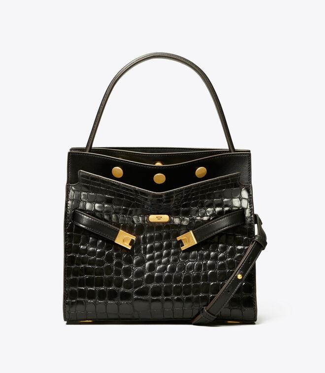 حقيبة مزدوجة لي رادزيويل صغيرة مزخرفة 001 | حقائب ساتشيل