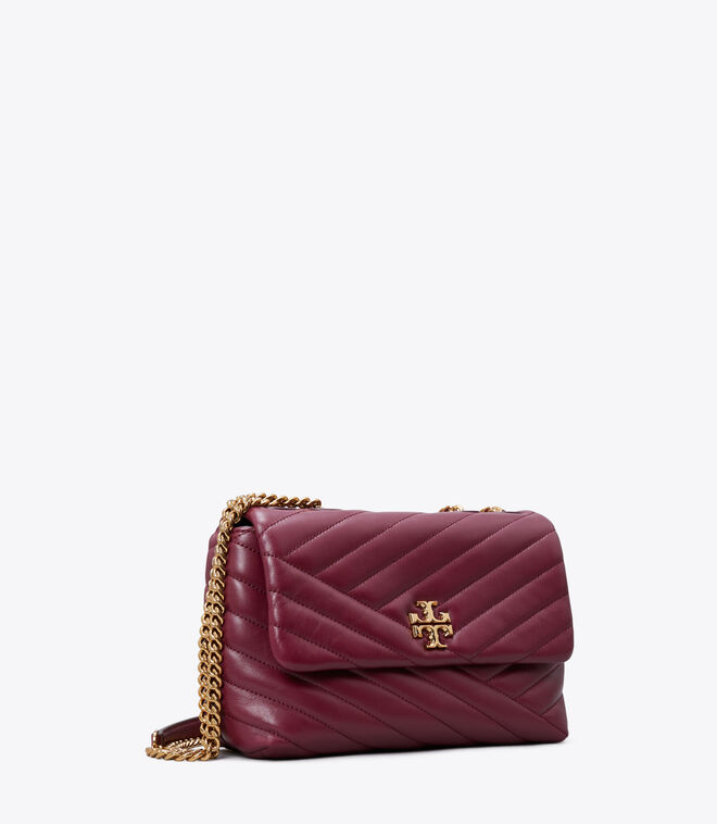 Kira Chevron Small Convertible Shoulder Bag
