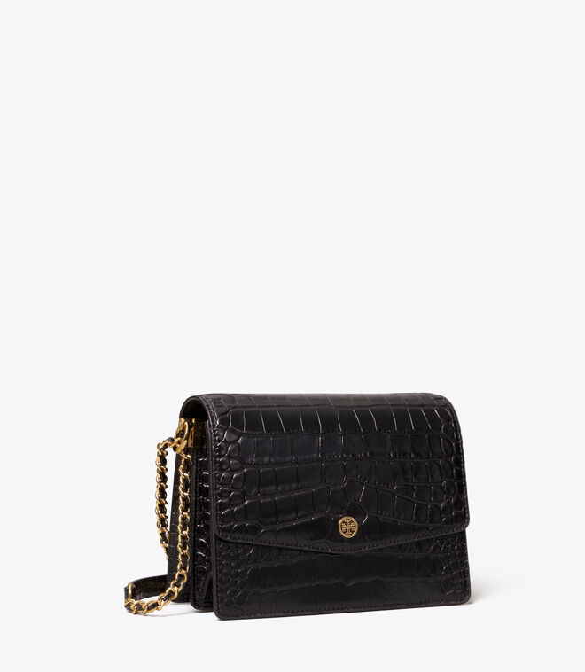 Robinson Embossed Convertible Shoulder Bag
