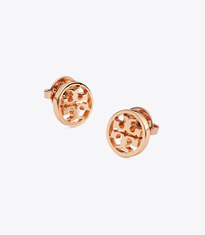 LOGO CIRCLE-STUD EARRING | 652 | Stud Earring