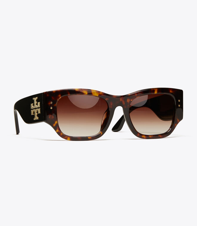 VINTAGE EXPLODED STACKED RECTANGULAR WIDE   212   Sunglasses