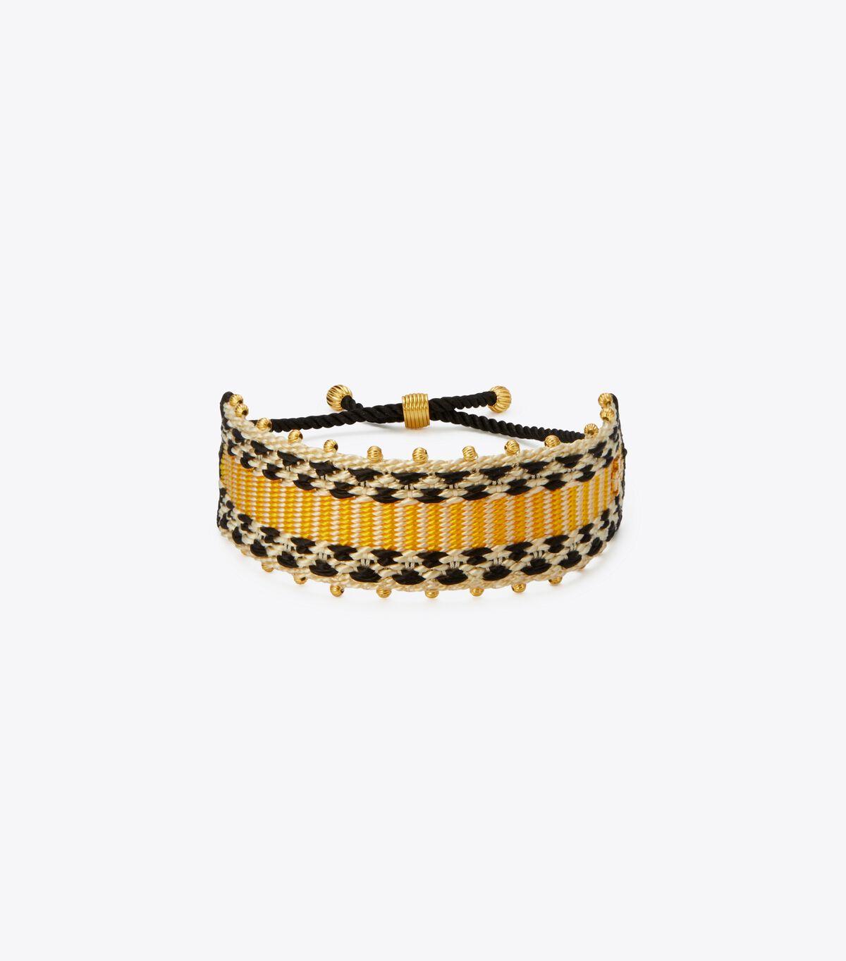 Geo Webbing Bracelet