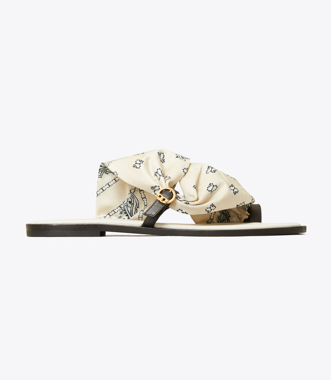 Selby Scarf Sandal