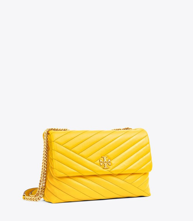 Kira Chevron Convertible Shoulder Bag