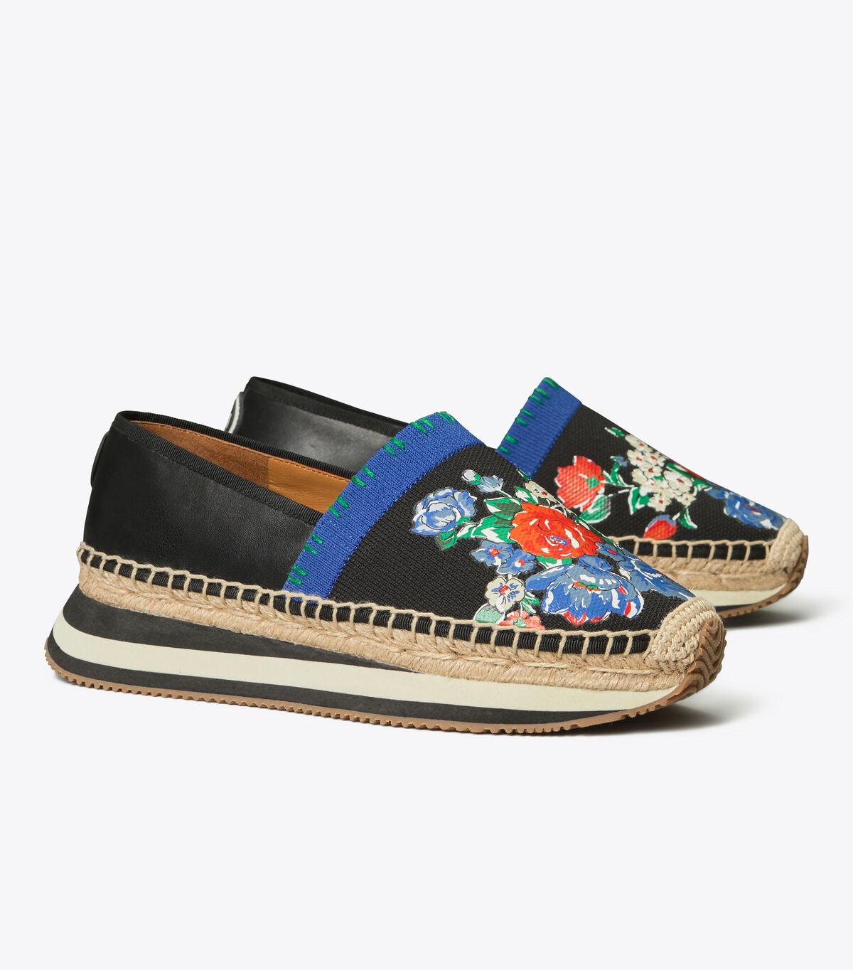 Printed Daisy Slip-On Sneaker