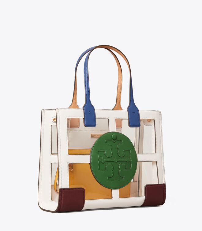 Ella Clear Quadrant Mini Tote Bag