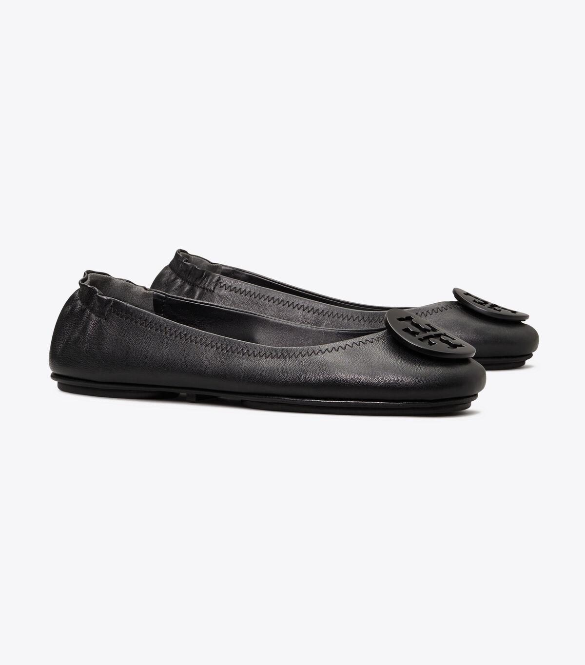 باليرينا ميني ترافيل مع شعار توري بيرش | 001 | أحذية باليرينا