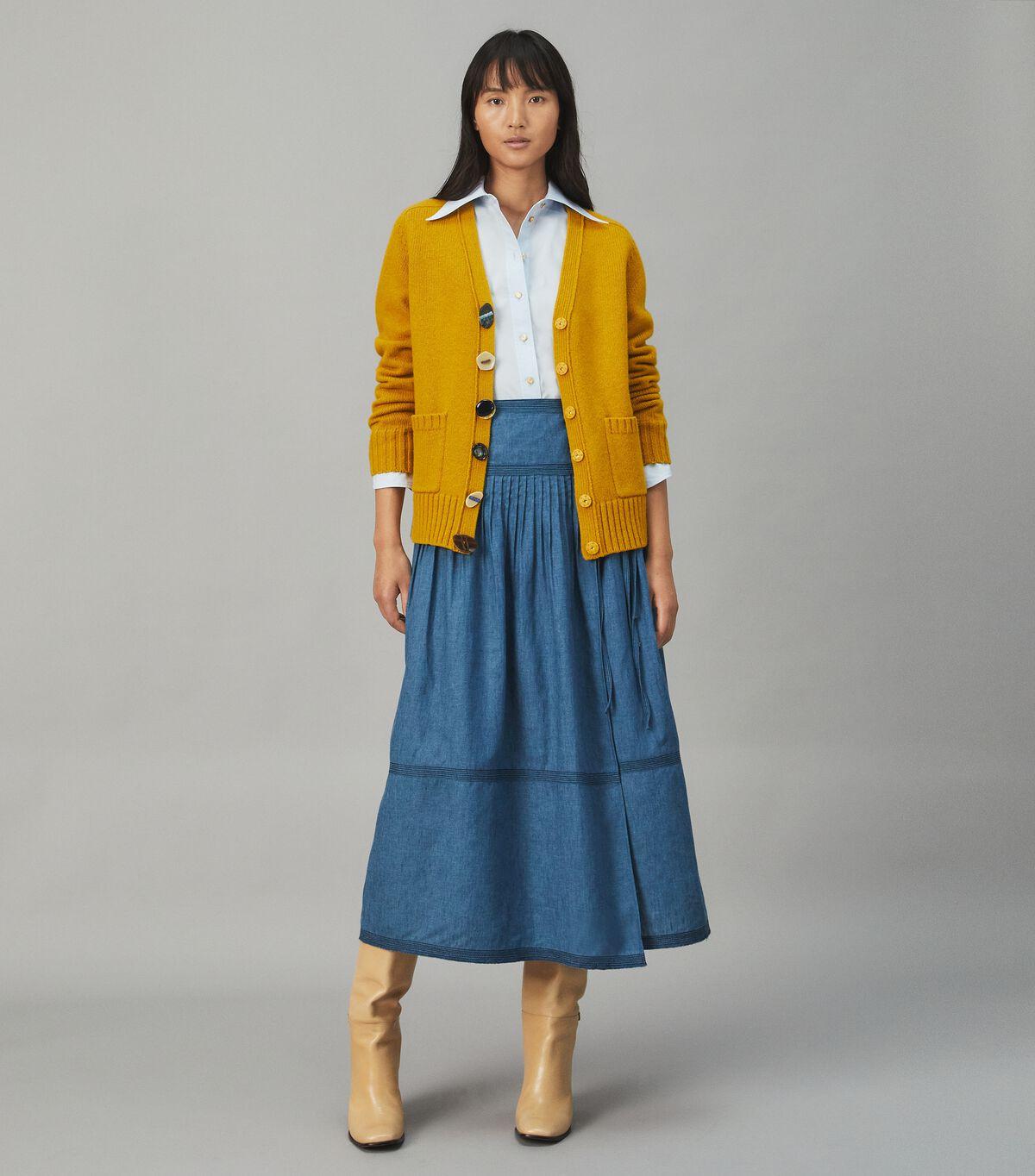 Novelty Button Wool Cardigan