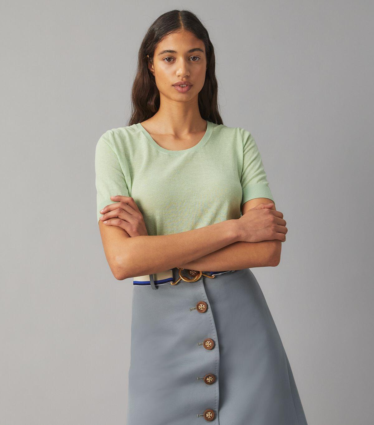 Short-Sleeve Lightweight Pullover