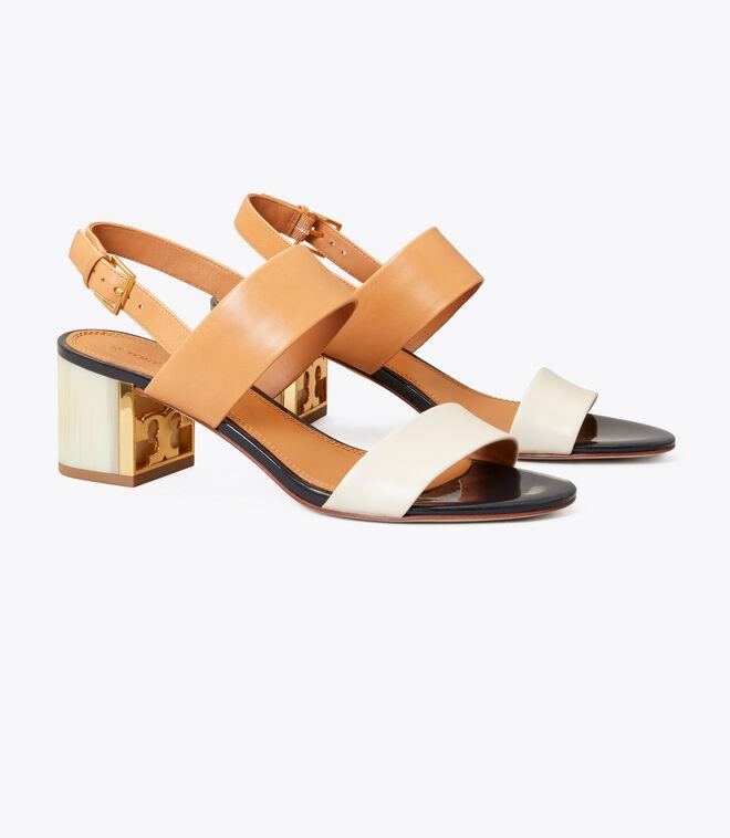 Gigi Two-Tone Sandal